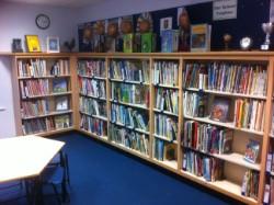 Library - non-fiction shelves